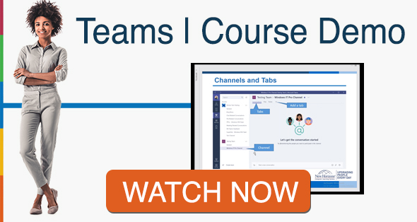 Microsoft Teams Course Demo CTA