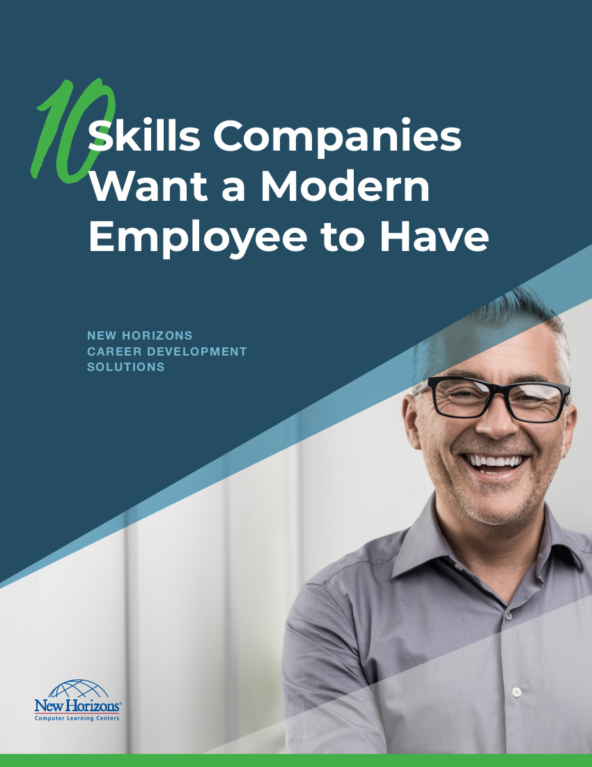 eBook Cover - 10 Skills Modern Employees